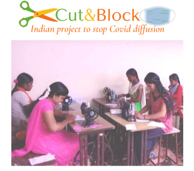 INDIA -CUT&BLOCK –  Indian Project to Stop Covid diffusion